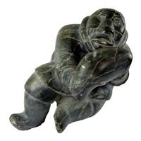 Chasseur, v.1970, artiste non identifié de Puvirnituq