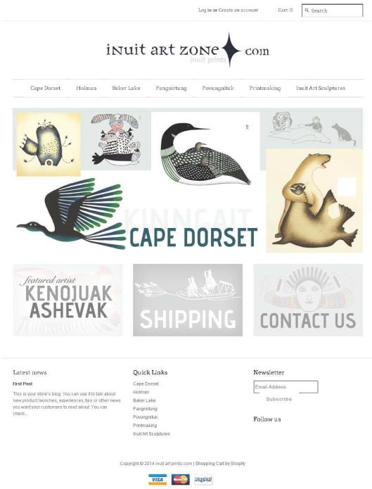 inuit art prints from Cape Dorset, Pangnirtung, Baker, Holman, Nunavik_Page_1